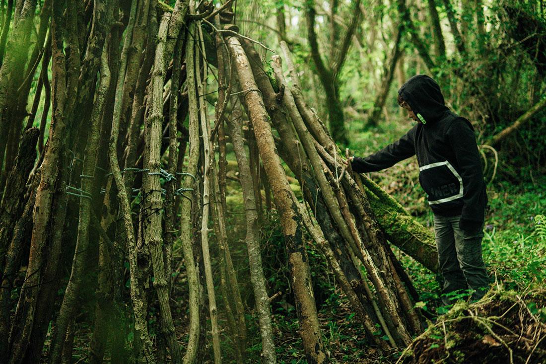 woodland den