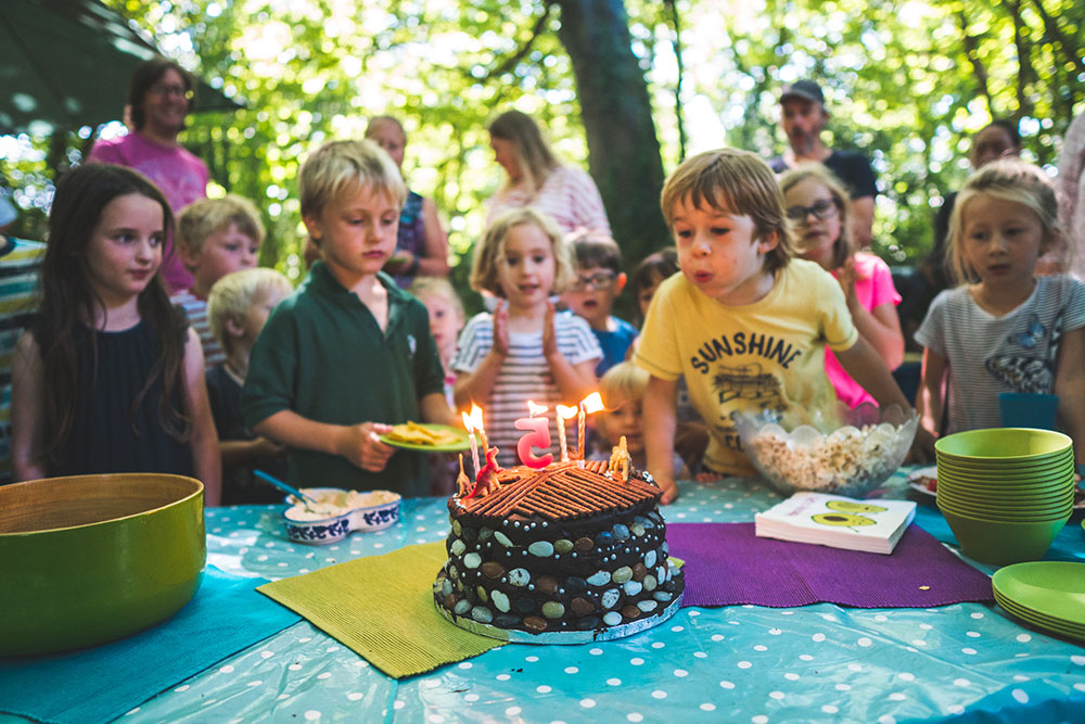 Birthday Parties at heart of the Woods